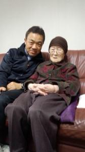 2013.5最高齢105歳石川セツさん