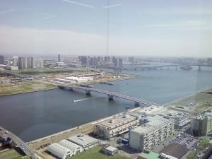 東京湾の眺め