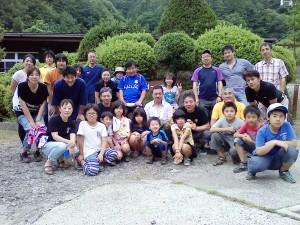2013.7.28芦川渓谷.石和道院合宿