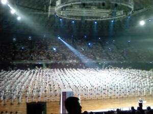 2013 8.25少林寺拳法世界大会開会式