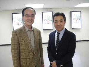 2013.12.12NHKラジオ第一・柿沼アナと